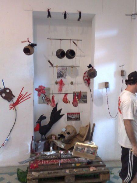 Sitarane (installation worshop avec Barthelémy Togo)
